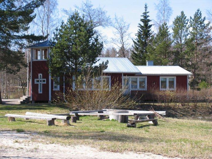 en bild på huvudbyggnaden