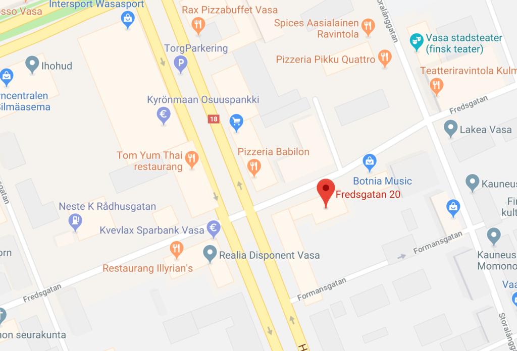 karta på var fmus kontor finns
