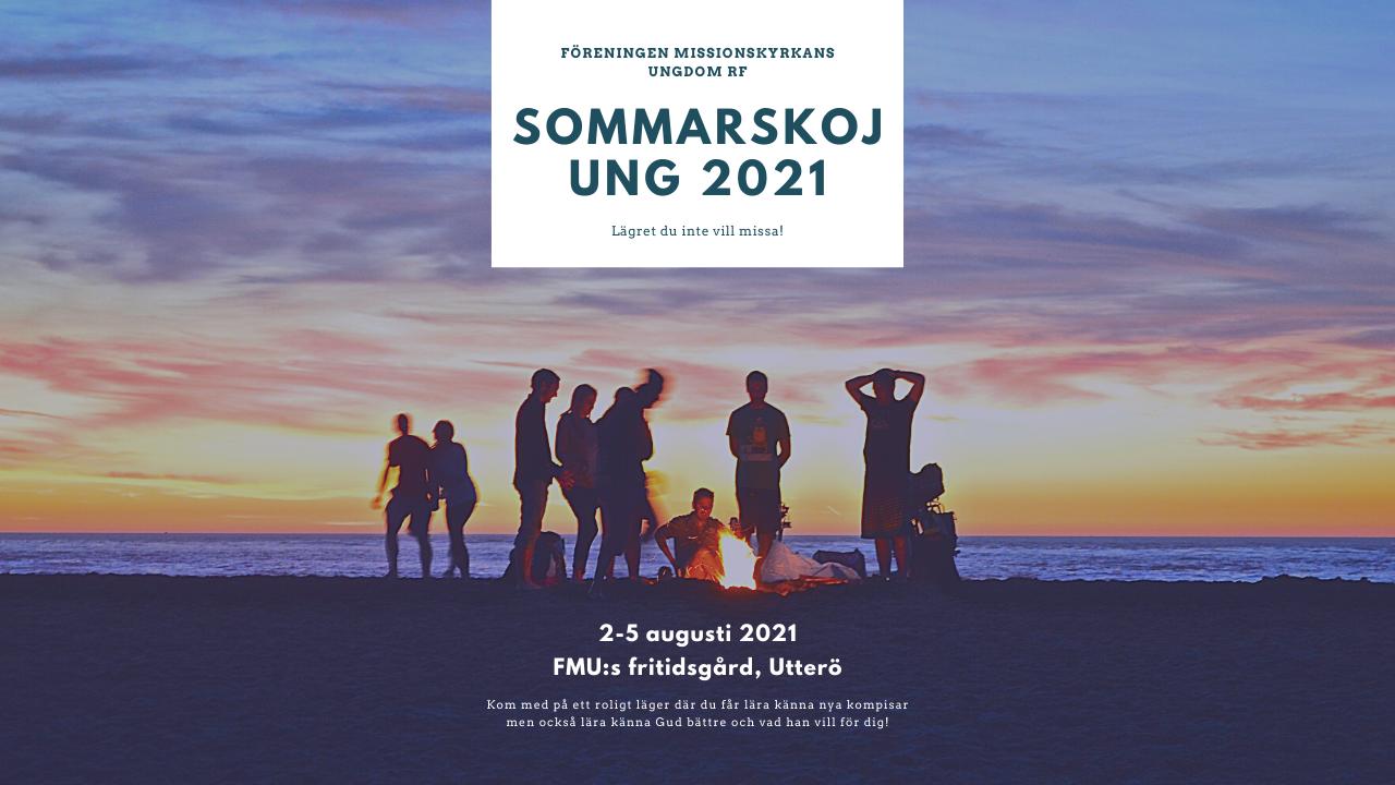 Reklam om sommarskoj UNG